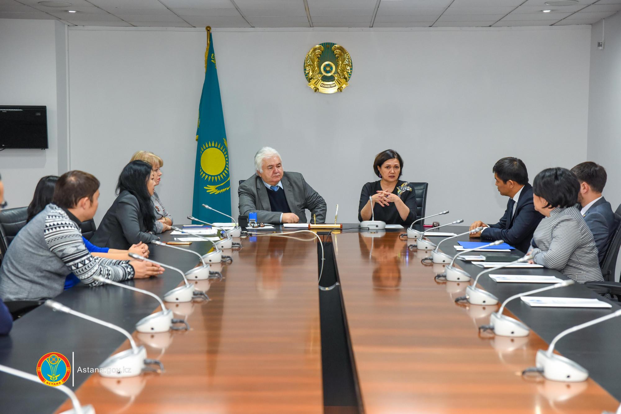 В Астане обсудили вопросы общественной медиации