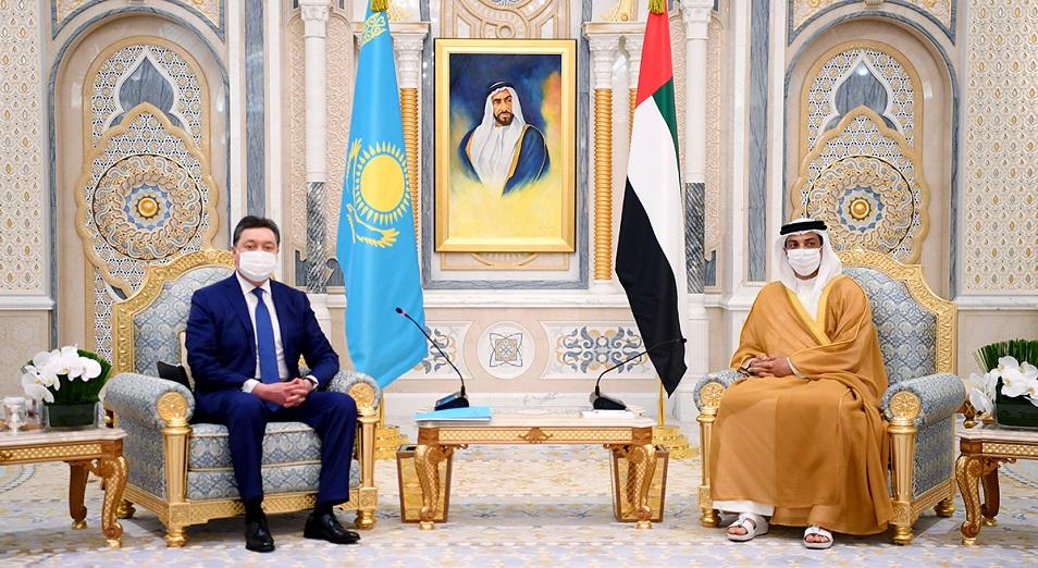 Казахстан и ОАЭ согласовали инвестпроекты на $6,1 млрд
