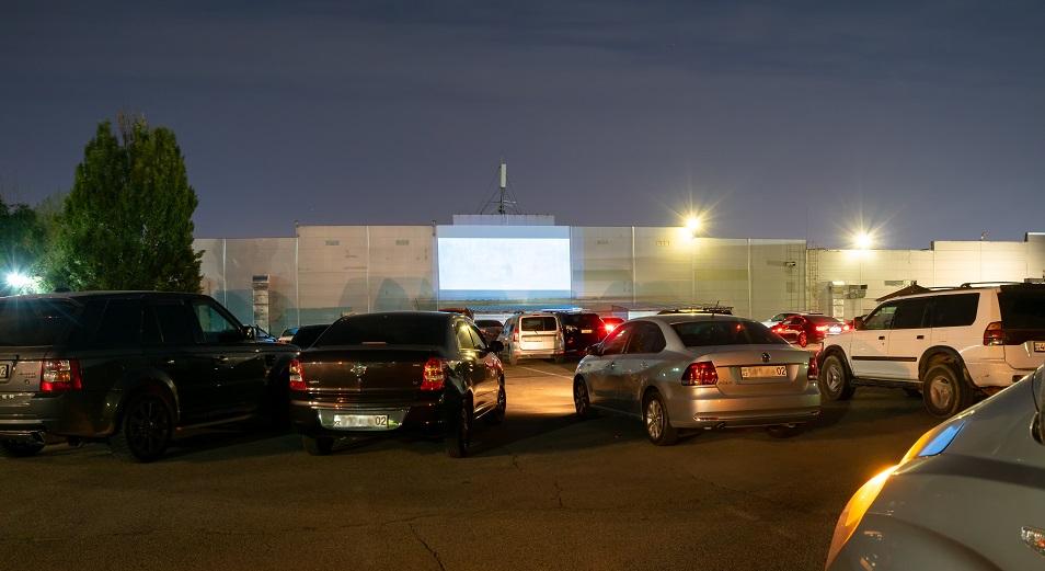 Звезды, автомобили, большой экран