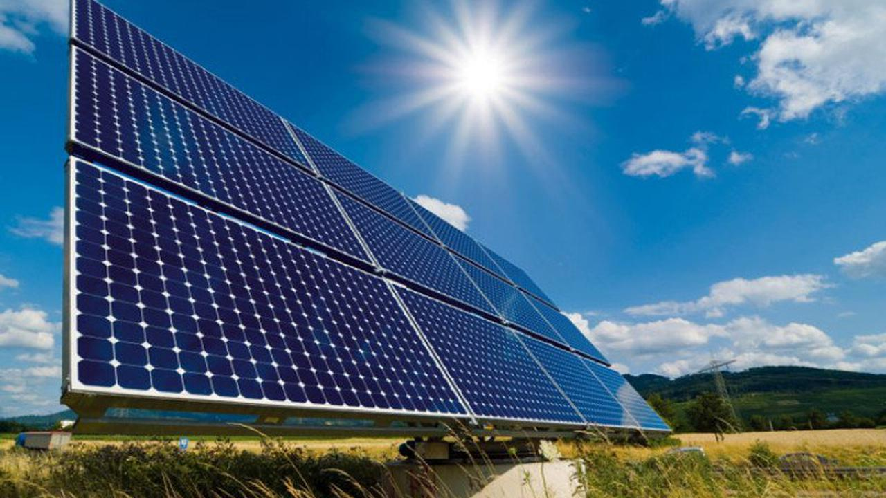 В Акмолинской области началось строительство солнечной электростанции