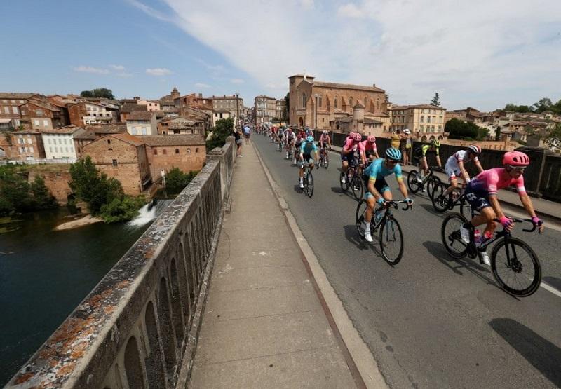 """""""Тур де Франс"""": как прошел 11-й этап"""