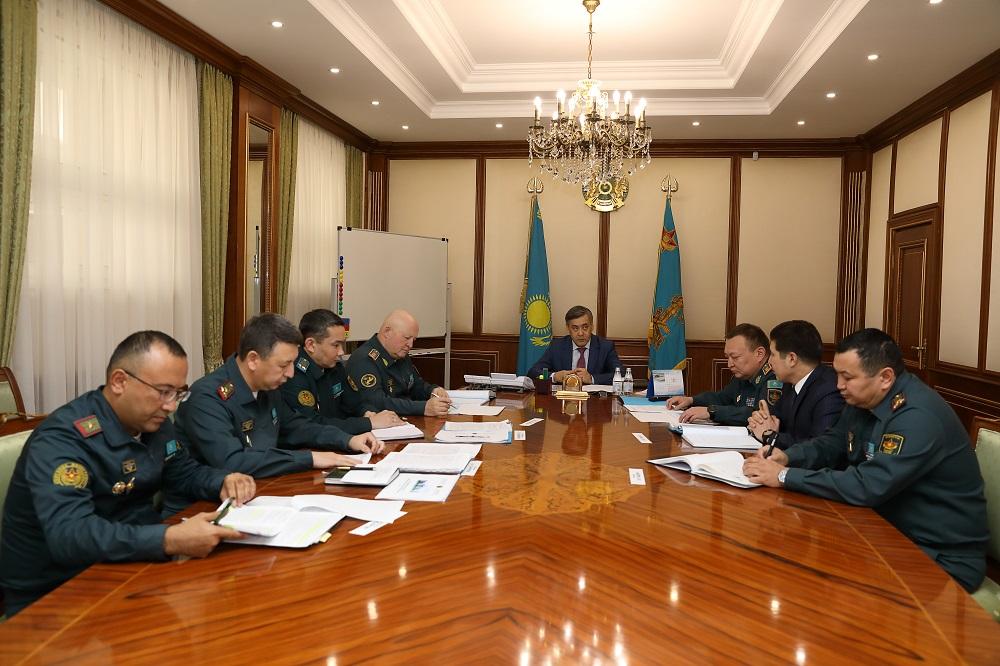 В Астане обсудили проект плана газификации теплоисточников природным газом объектов военного ведомства