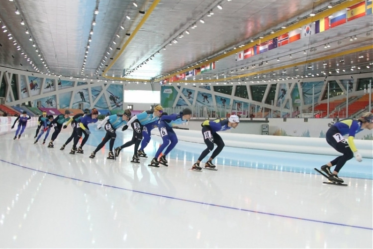 В Астане пройдёт чемпионат страны по конькобежному спорту