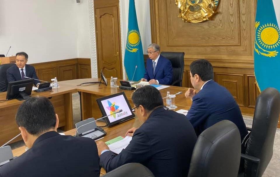 Президент Алматыдағы алма бақтарына шабуылға қатысты пікір білдірді