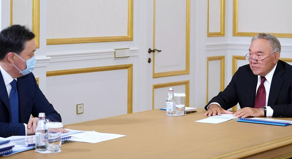 Председатель Совбеза встретился с Премьер-Министром Аскаром Маминым