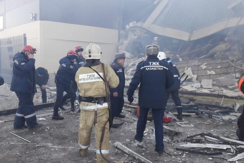 О состоянии третьей пострадавшей от взрыва в Астане рассказали врачи