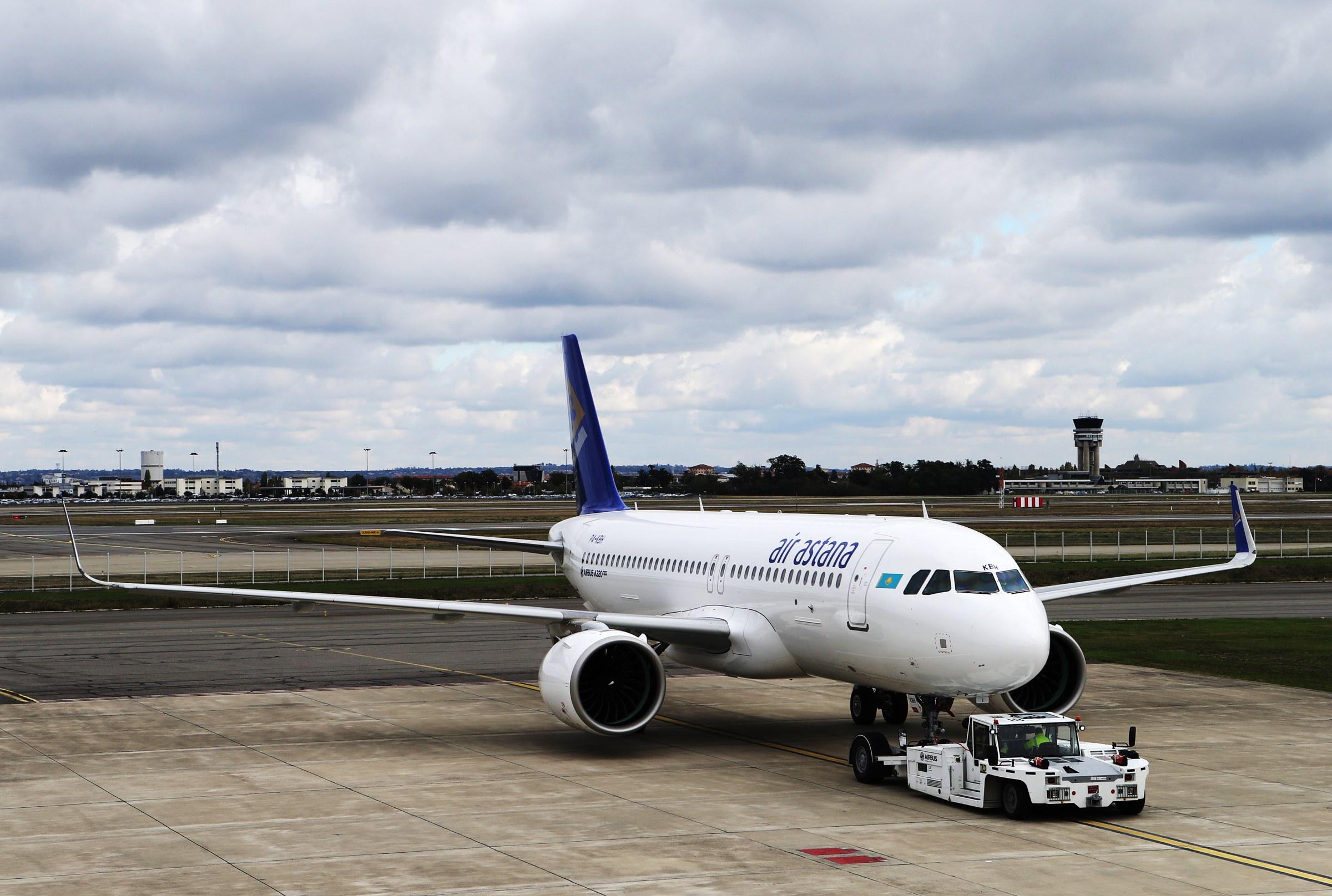 Air Astana планирует пополнить парк 13 самолетами Airbus
