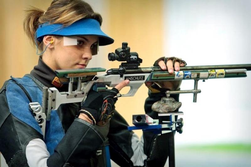 Казахстанка завоевала бронзовую медаль на этапе Кубка мира по пулевой стрельбе
