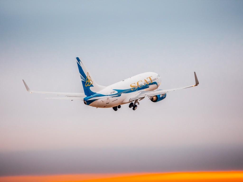 Самолет авиакомпании SCAT запросил аварийную посадку в аэропорту Нур-Султана