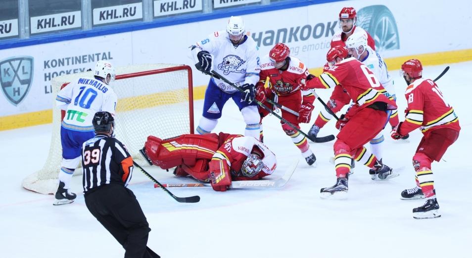Регулярка КХЛ: «Барыс» обошел КРС на Востоке
