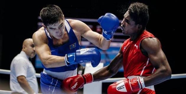 Кубаның Олимпиада чемпиондары қазақ боксшыларымен жаттығып жатыр