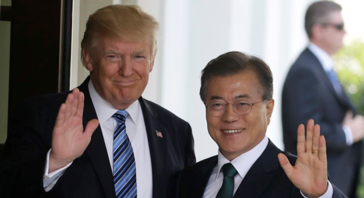 Трамп и Мун Чжэ Ин отметили сложность ситуации на Корейском полуострове