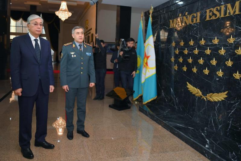 Президент стратегиялық командалық-штабтық оқу-жаттығуларына қатысты