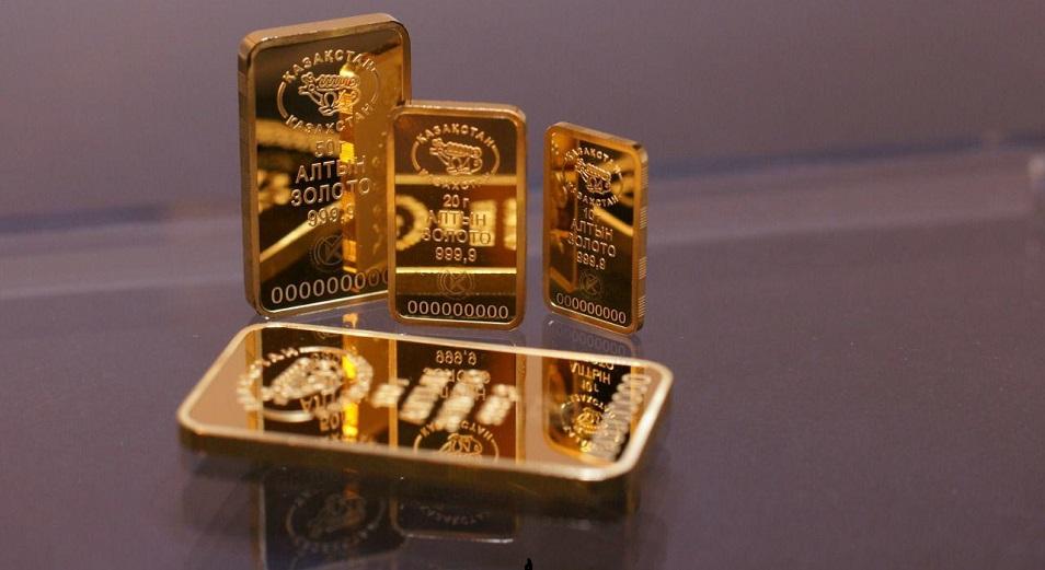 Сколько золотых слитков купили казахстанцы?