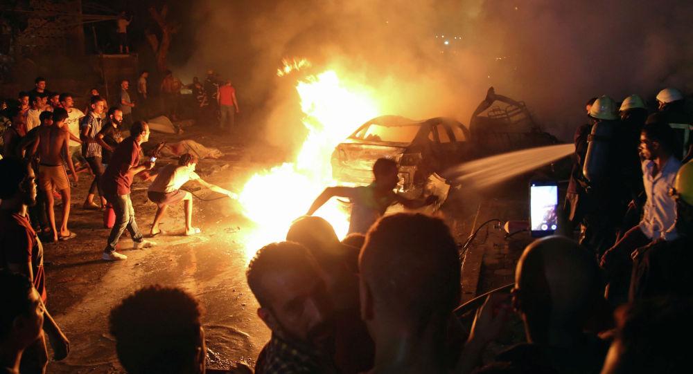 В результате взрыва в Каире погибли 17 человек