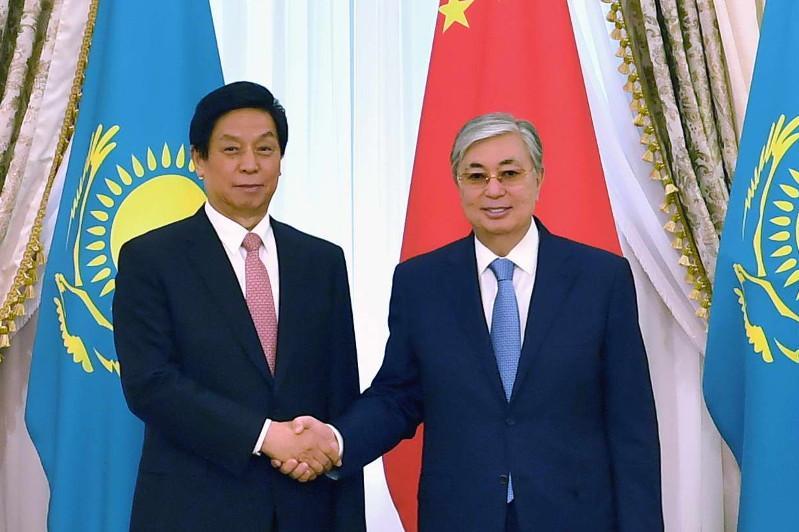 Мемлекет басшысы Ли Чжаньшуды қабылдады