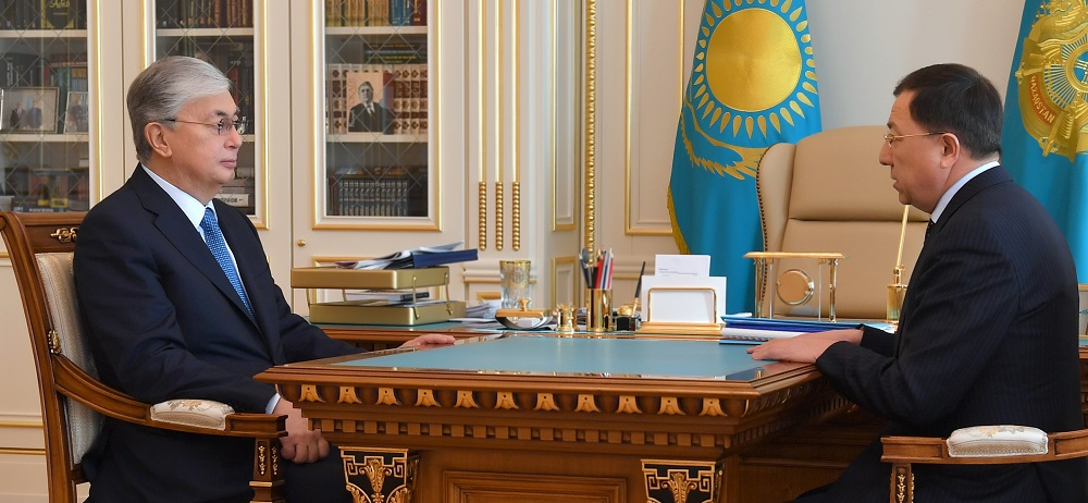 Касым-Жомарт Токаев дал зампреду АНК поручения по сохранению стабильности в стране