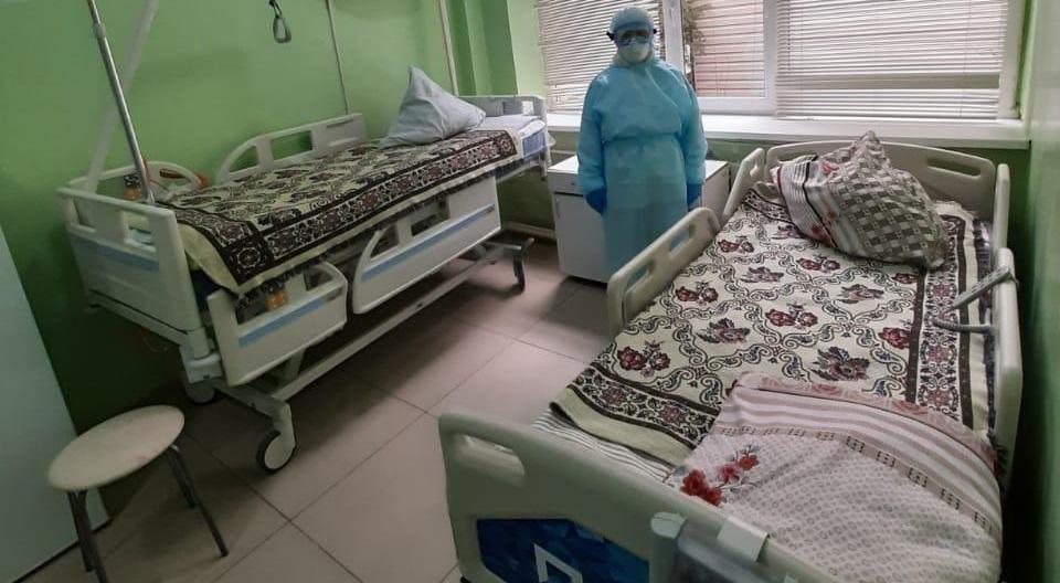 Реанимация городской инфекционной больницы Алматы  получила 10 современных кроватей