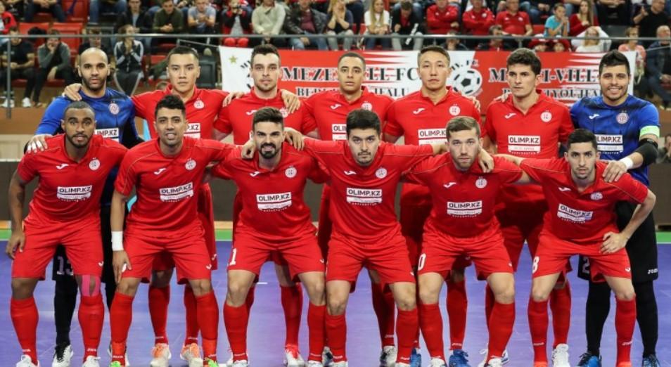 «Кайрат» стал хозяином Элитного раунда Лиги чемпионов по футзалу
