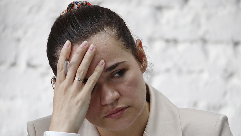 Светлана Тихановская опубликовала видеообращение после отъезда из Беларуси в Литву