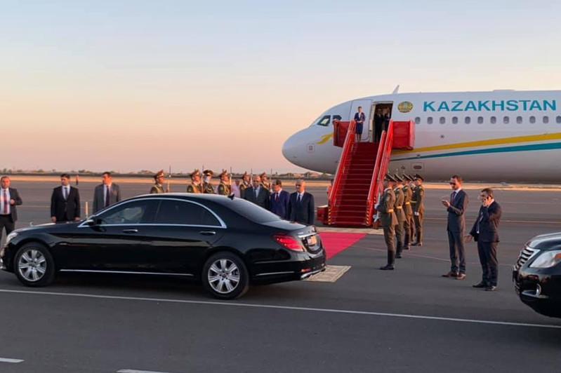 Мемлекет басшысы Арменияға жұмыс сапармен барды