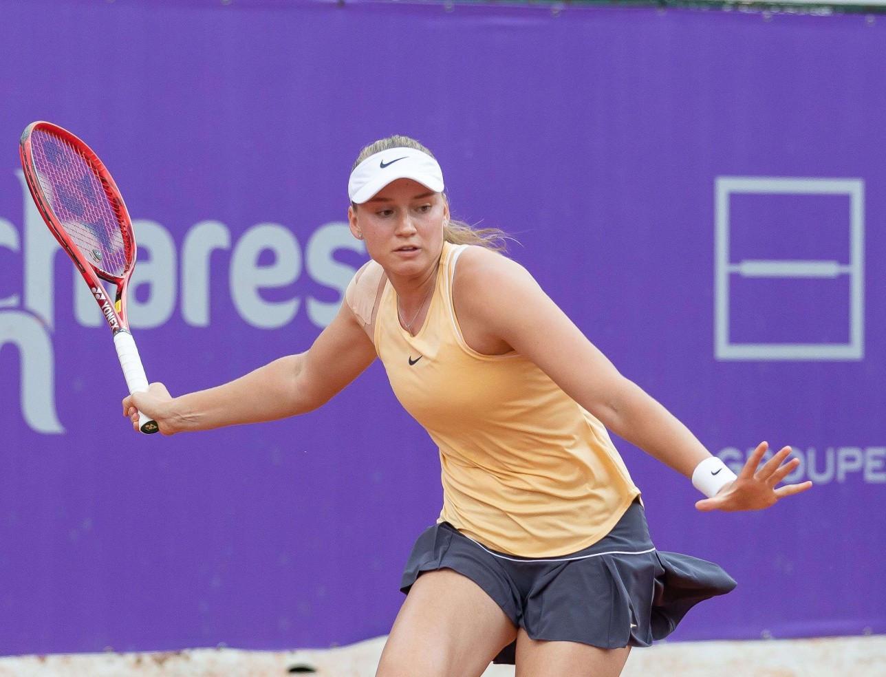 Елена Рыбакина Старсбургтегі турнирдің екінші кезеңіне шықты
