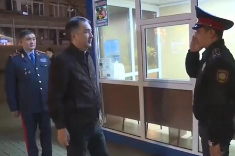 Сағынтаевтың сынына полиция департаменті жауап бермеді