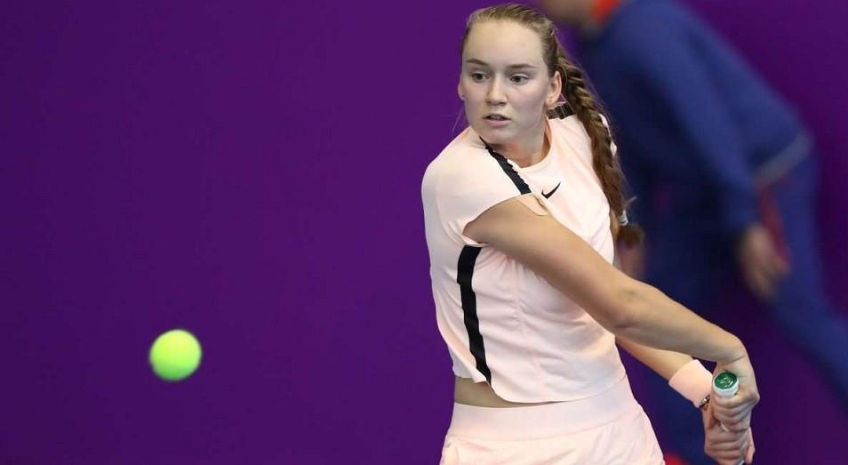 Елена Рыбакина вошла в топ-40 рейтинга WTA