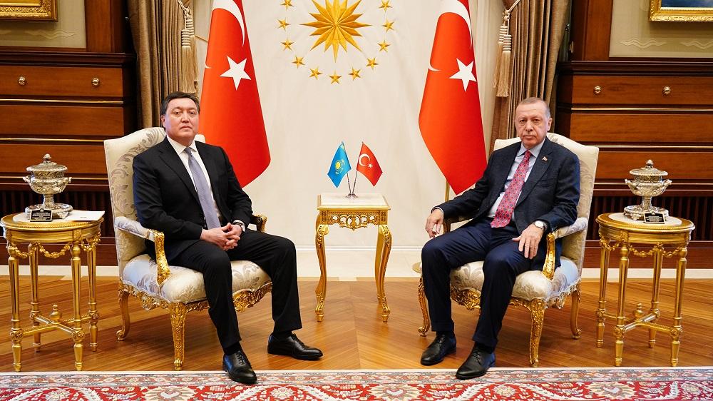 Аскар Мамин: Казахстан рассматривает Турцию как одного из стратегических партнеров