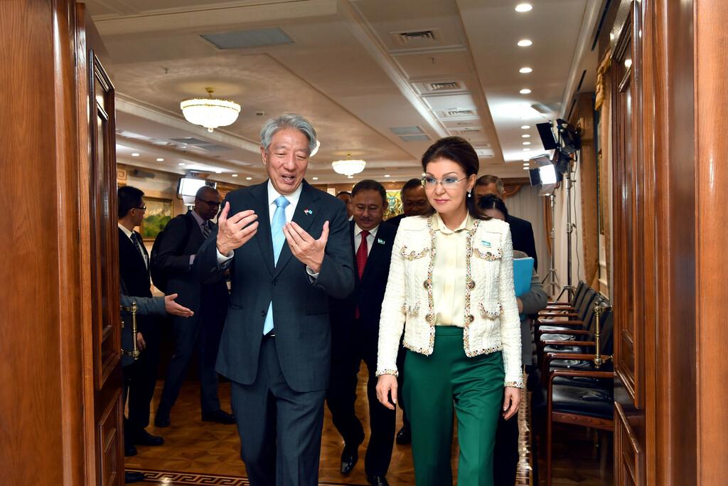 Назарбаева Сингапурды Қазақстанға инвестиция салуға шақырды