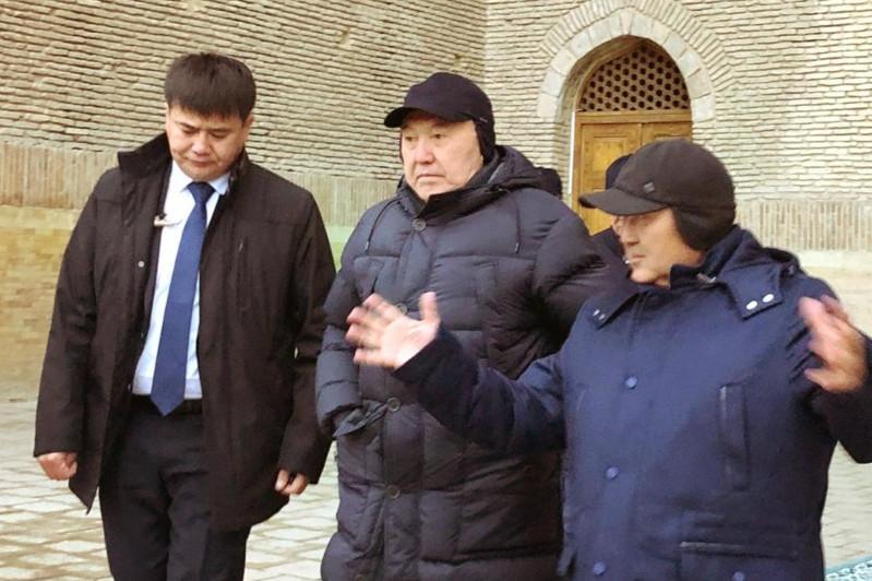 Елбасы Түркістандағы құрылыс жұмыстарымен танысады