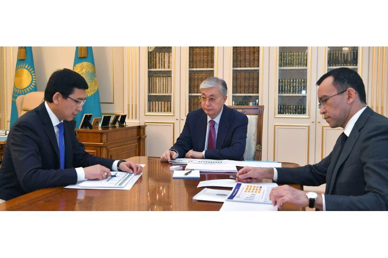 Мемлекет басшысы Білім және ғылым министрін қабылдады