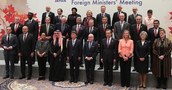 В Японии завершилось заседание глав МИД стран G20