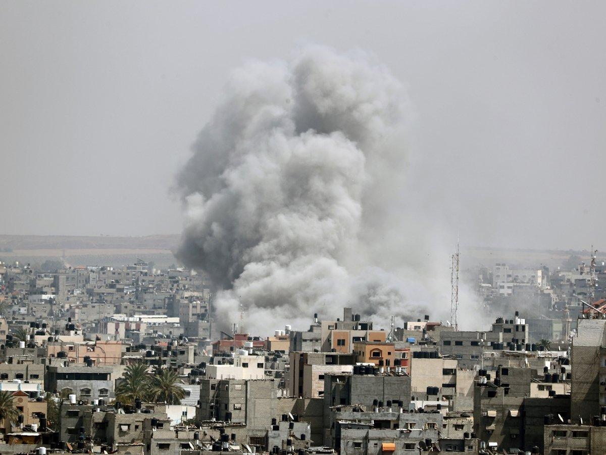 Израильский беспилотник поразил военный пост ХАМАС