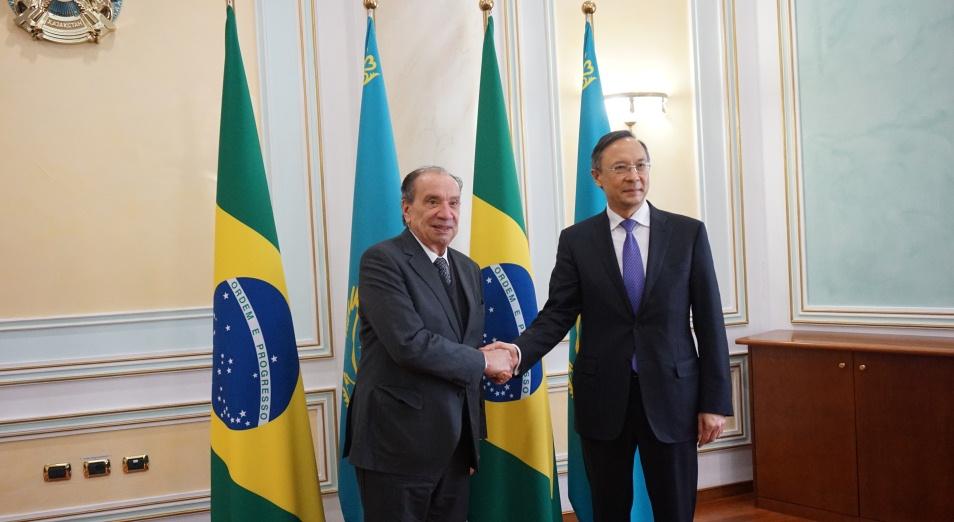 Бразилия поделится с Казахстаном своим опытом развития АПК, Бразилия, сотрудничество, АПК, МИД РК, торговля, сельское хозяйство