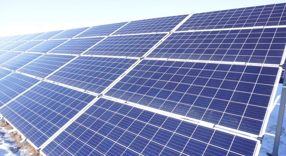 Солнечную электростанцию запустили в Карагандинской области, Солнечная электростанция, СЭС, ВИЭ, энергетика, GoldbeckSolar, инвестиции,SES Saran