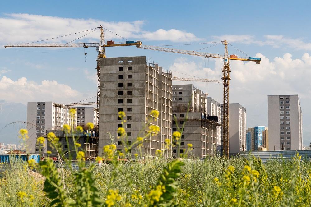 Цены на новое жилье в Казахстане в марте повысились на 0,1%