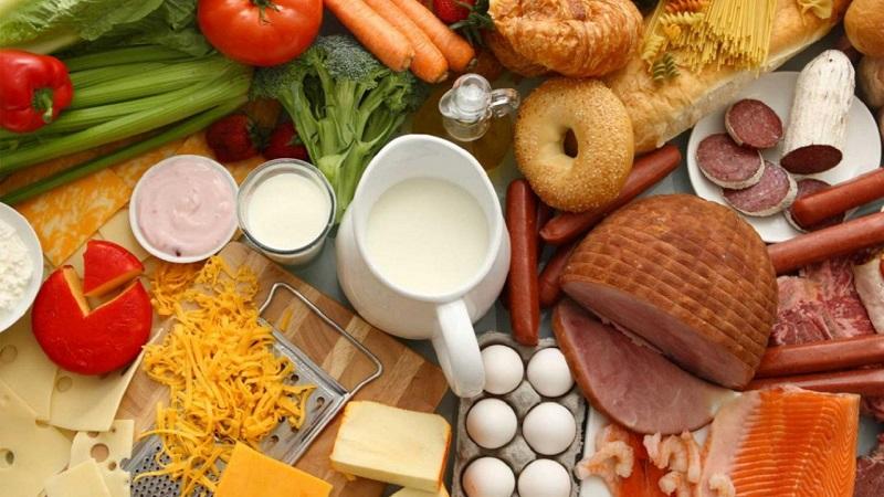 В РК более половины пищепрома приходится на выпуск муки, мяса и молока