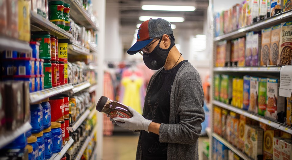 В Казахстане запасено 708 500 тонн продуктов питания