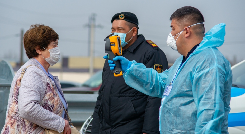 Коронавирус в Казахстане: 22 марта