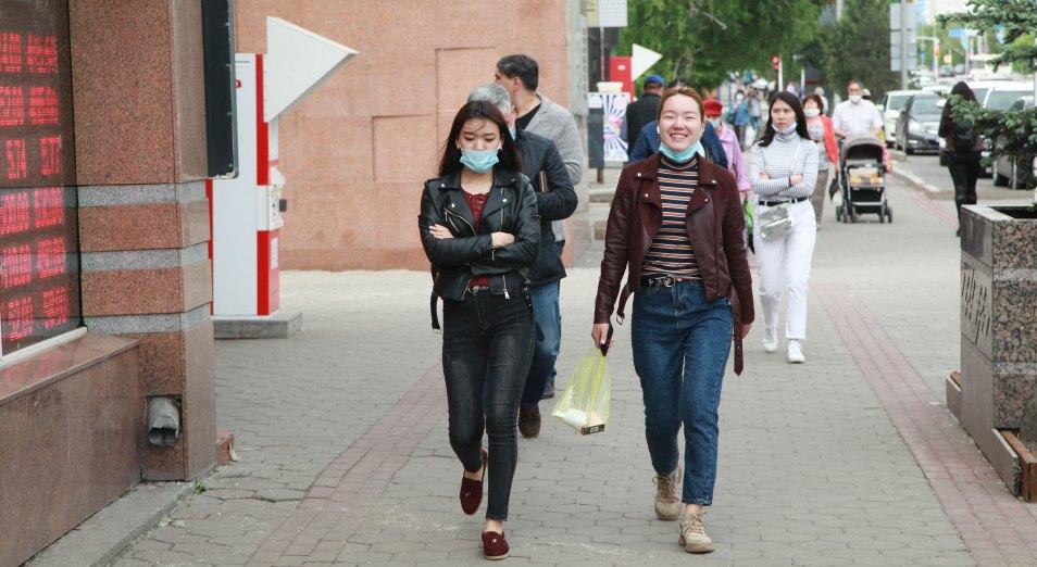Ношение масок на улице стало обязательным