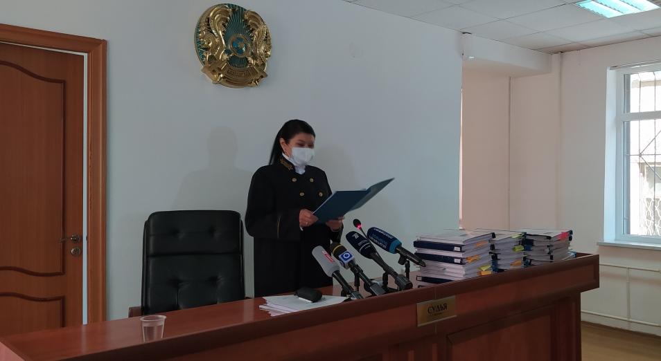 В Шымкенте закончился суд по краже оружия из войсковой части