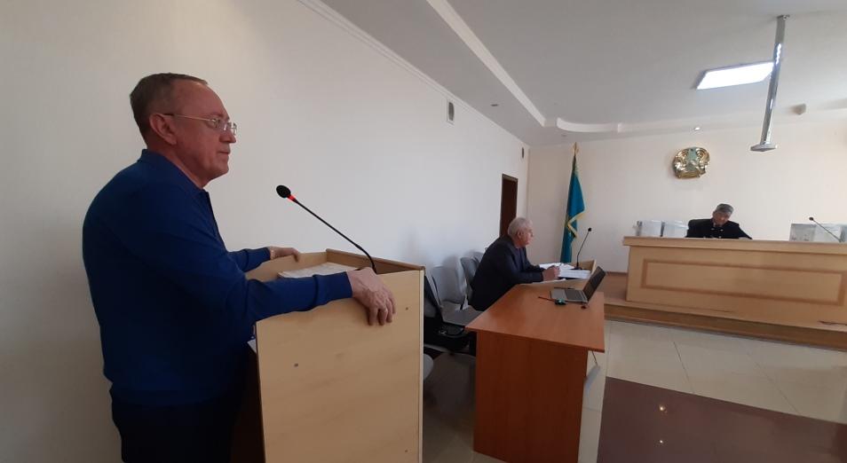 Суд приступил к допросу экс-главы и основателя ТОО «Иволга-Холдинг» Василия Розинова