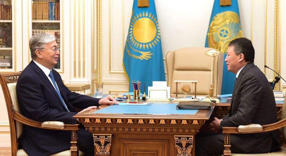 Токаев отметил важность стимулирования деловой активности бизнеса и развития производства в Казахстане