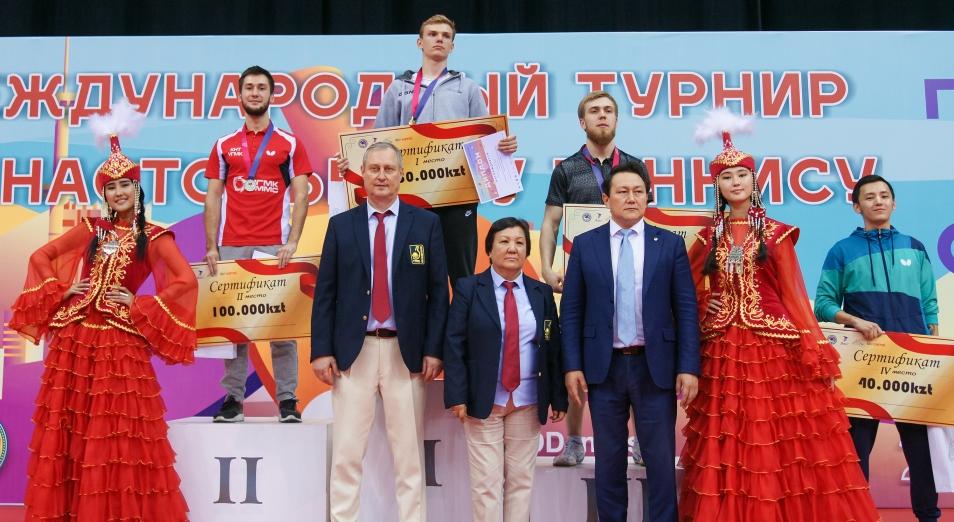 В Алматы завершился Международный турнир по настольному теннису «Южная столица»