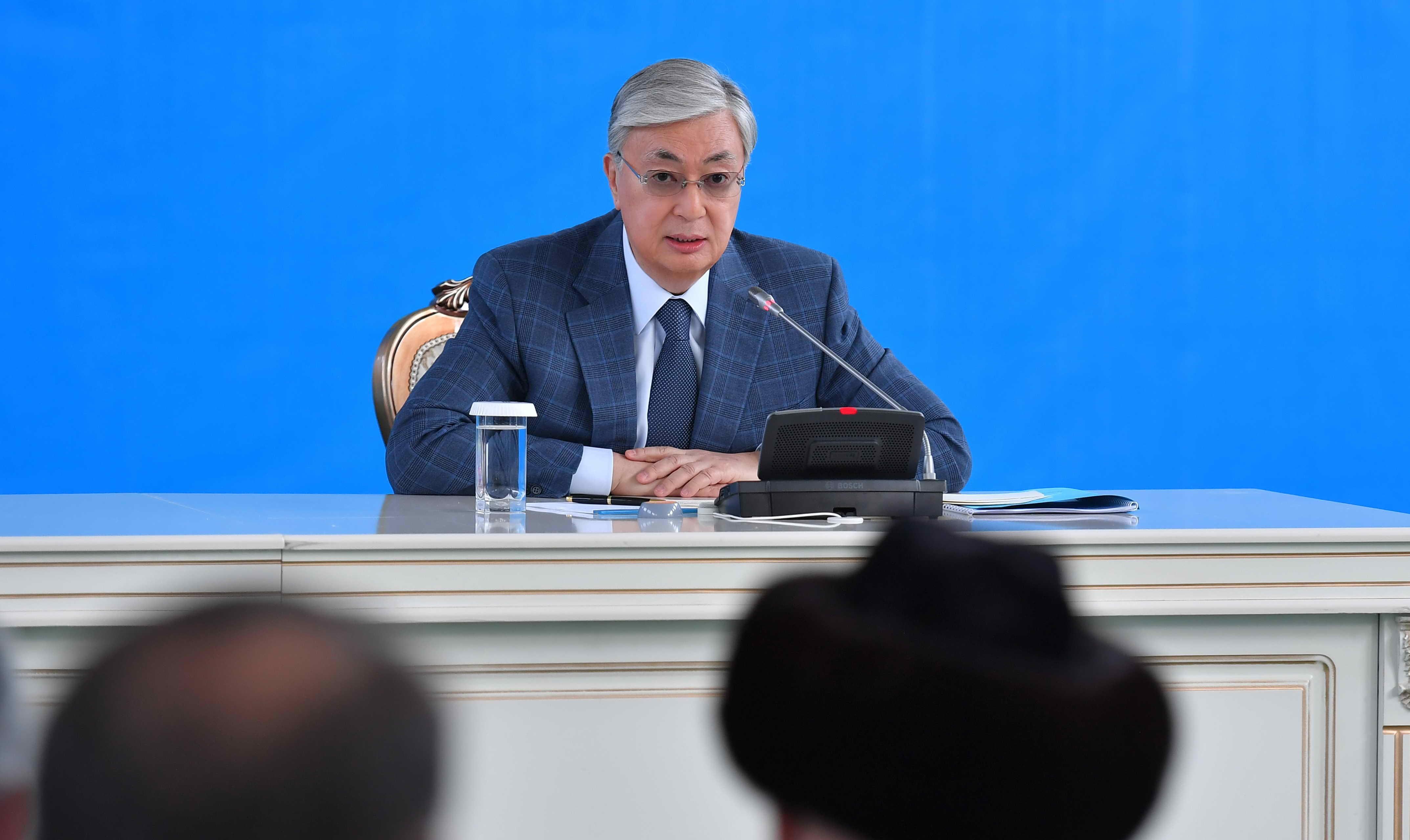 Новому руководству Жамбылской области поручено не допустить дестабилизации ситуации и придать импульс развитию региона – Токаев