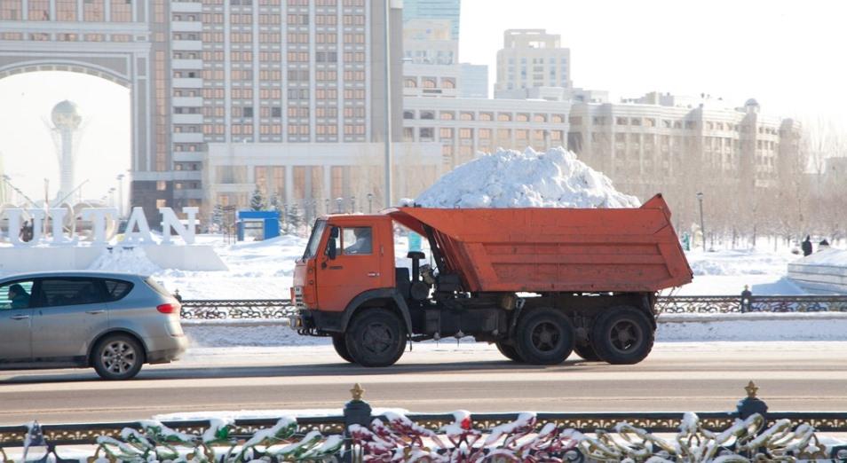Треть миллиарда тенге выделяет «Астана Тазалық» на аренду самосвалов