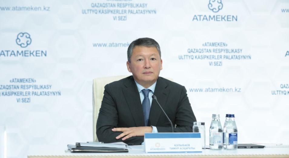 Все предложения бизнеса будут учтены – Тимур Кулибаев