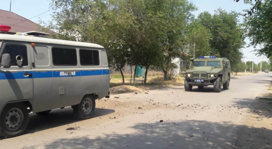 Отряд военной полиции сформирован в Арыси для круглосуточного патрулирования