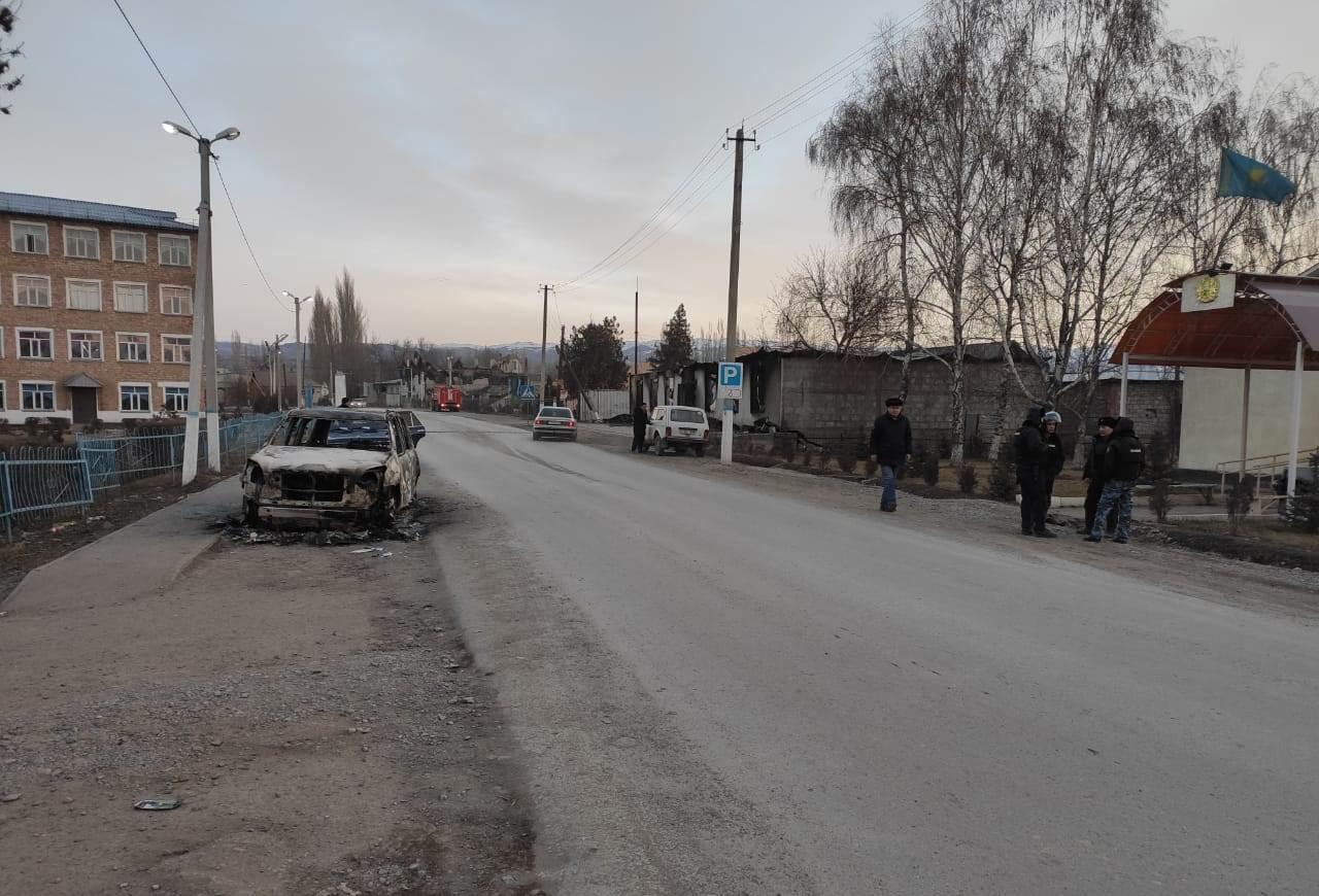 Обстановка в населенных пунктах на юге Казахстана, где произошли массовые беспорядки, спокойная